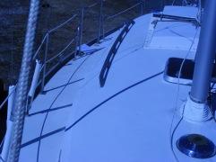 starboard deck looking aft